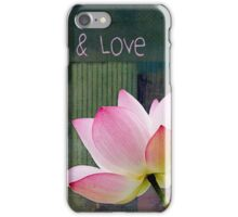 Live n Love - 0333-15a iPhone Case/Skin