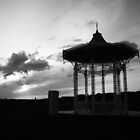 Band Stand sunset by Andrew Paul Hayward