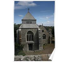 Minster Abbey Church Poster