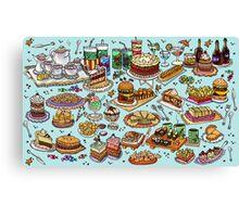 Food! Canvas Print