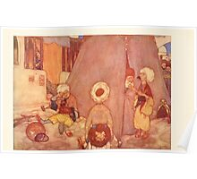 Stories from the Arabian Nights - 1907 - Edmund Dulac - 0079 - The Tent Poster