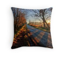 Autumn Receeds Throw Pillow