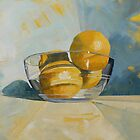 Grapefruit Bowl Still Life by CatSalter