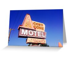 Cozy Cone Greeting Card