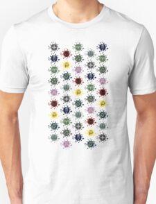 Skyrim City Seals Splat Logos T-Shirt
