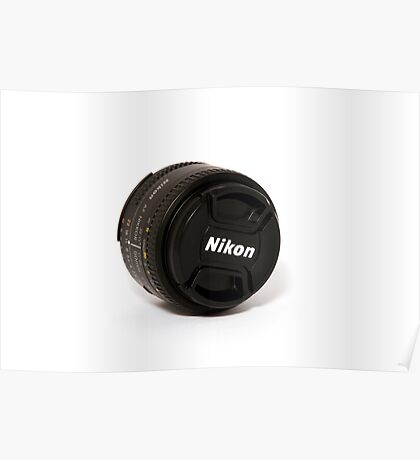 50 mm f1.8 Poster