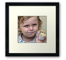 Sugar & Spice Framed Print