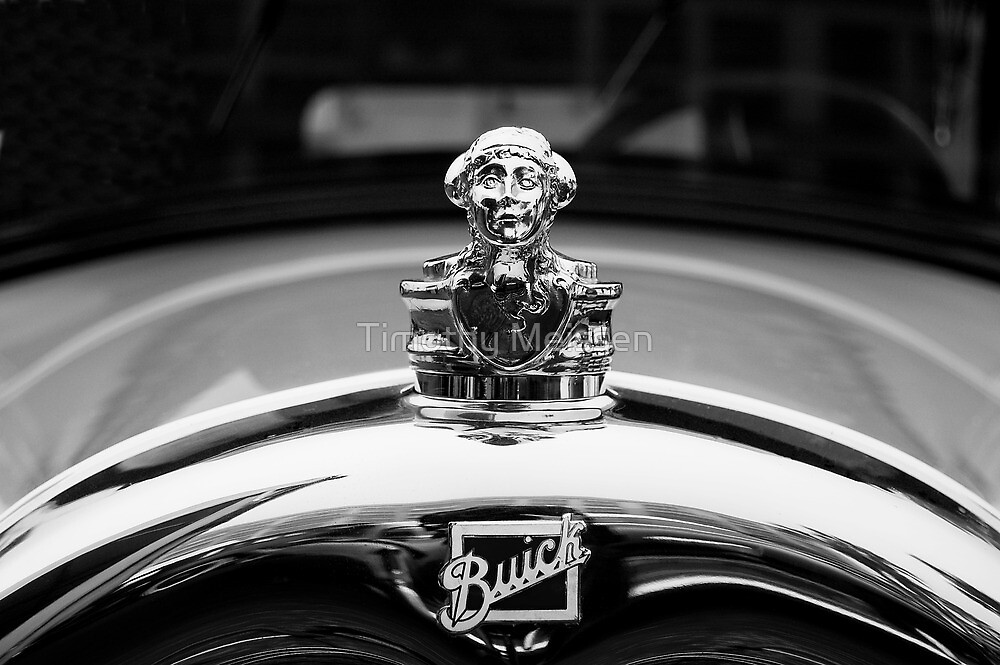 1927 Buick Master Six Brougham Sedan Ornament by Timothy Meissen