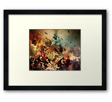 And it is still not the worst day you have ever had Framed Print