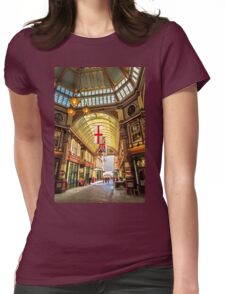 Leadenhall Market, City of London Womens Fitted T-Shirt