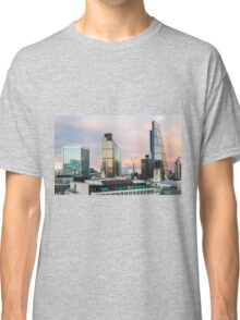 City of London Evening Skyline Classic T-Shirt