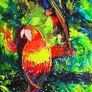 Midnight Parrot Symphony by Estelle O'Brien