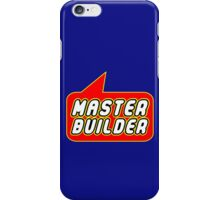 Master Builder, Bubble-Tees.com iPhone Case/Skin
