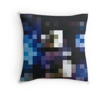 Pixelchick Throw Pillow