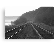 Track Crossover - Duncannon Canvas Print