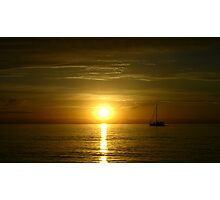 West Beach Sunset Photographic Print