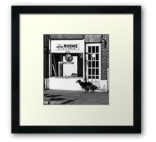 Rooms Available Framed Print