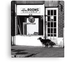 Rooms Available Canvas Print