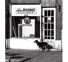 Rooms Available Photographic Print