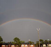 Florida Double Rainbow by hertzalot