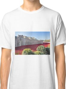 Tower Of London Poppies Classic T-Shirt