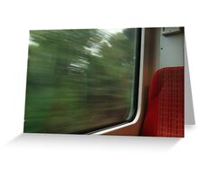 Commuter view of Surrey Greeting Card