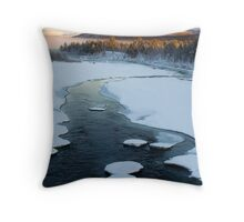 Swedish Lapland Throw Pillow