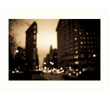 The Flatiron District, Manhattan Art Print