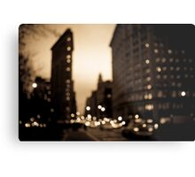 The Flatiron District, Manhattan Metal Print