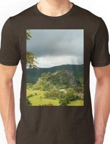 a vast Burma landscape Unisex T-Shirt