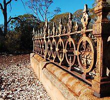 At peace - Paddington Cemetery, Western Australia by Melissa Drummond