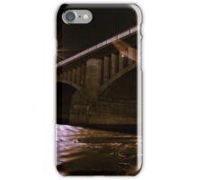 Lorne Bridge at night iPhone Case/Skin
