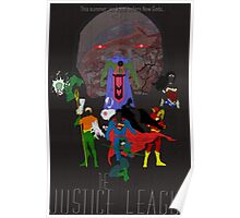 Justice League Mock Poster Poster