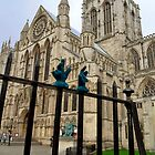 York minster with gloves by beanocartoonist