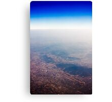 From the Sky Canvas Print
