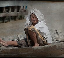 Character of the Tonle Sap by Pam McLure