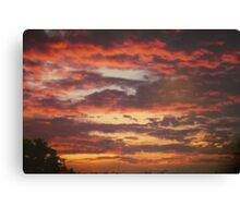 Sunset South Africa Canvas Print