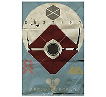 Destiny: The Golden Age Recruitment Poster Photographic Print