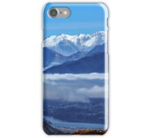 Queenstown from Crown Range Road iPhone Case/Skin