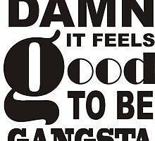 Damn it Feels Good to be Gangsta by aralenora