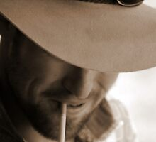 Smoking Man by ShannaB