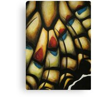 Chitin Layer (Attack) Canvas Print