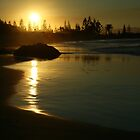 Sunset at Port Maquarie by Jodie Doyle