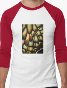 Chitin Layer (Attack) Men's Baseball ¾ T-Shirt