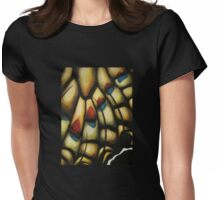 Chitin Layer (Attack) Womens Fitted T-Shirt