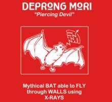 Deprong Mori -- Mythical Bat Able to Fly Through Walls Using X-rays Kids Clothes