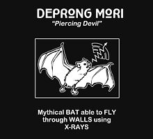 Deprong Mori -- Mythical Bat Able to Fly Through Walls Using X-rays Unisex T-Shirt