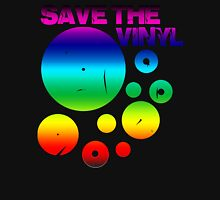 Save The Vinyl colored Unisex T-Shirt