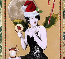 Christmas Fairy Card by WinonaCookie