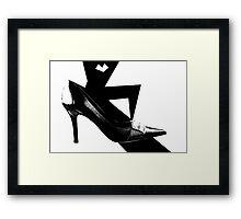 Smart Shoe Framed Print